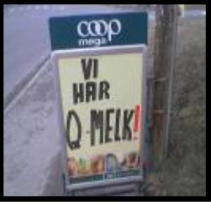 Vi har Q-melk!