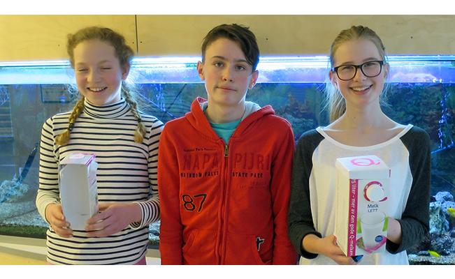 Bilde fra innovasjoncamp på Nærbø Ungdomsskole
