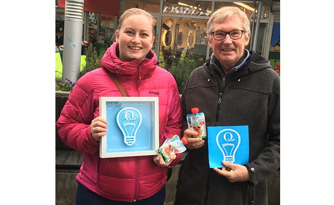 Ragnhild Sorthe fra Ellingsrudåsen i Oslo fikk en av årets Innovasjonspriser fra Q.