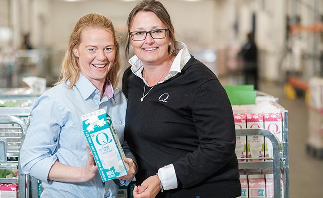 HR-leder Maren Sunde og HR-direktør Birthe Drageset er konstant på jakt - internt og eksternt - etter folk som kan utvikle seg til å bli nøkkelpersoner i Q. Det er bare å ta kontakt.