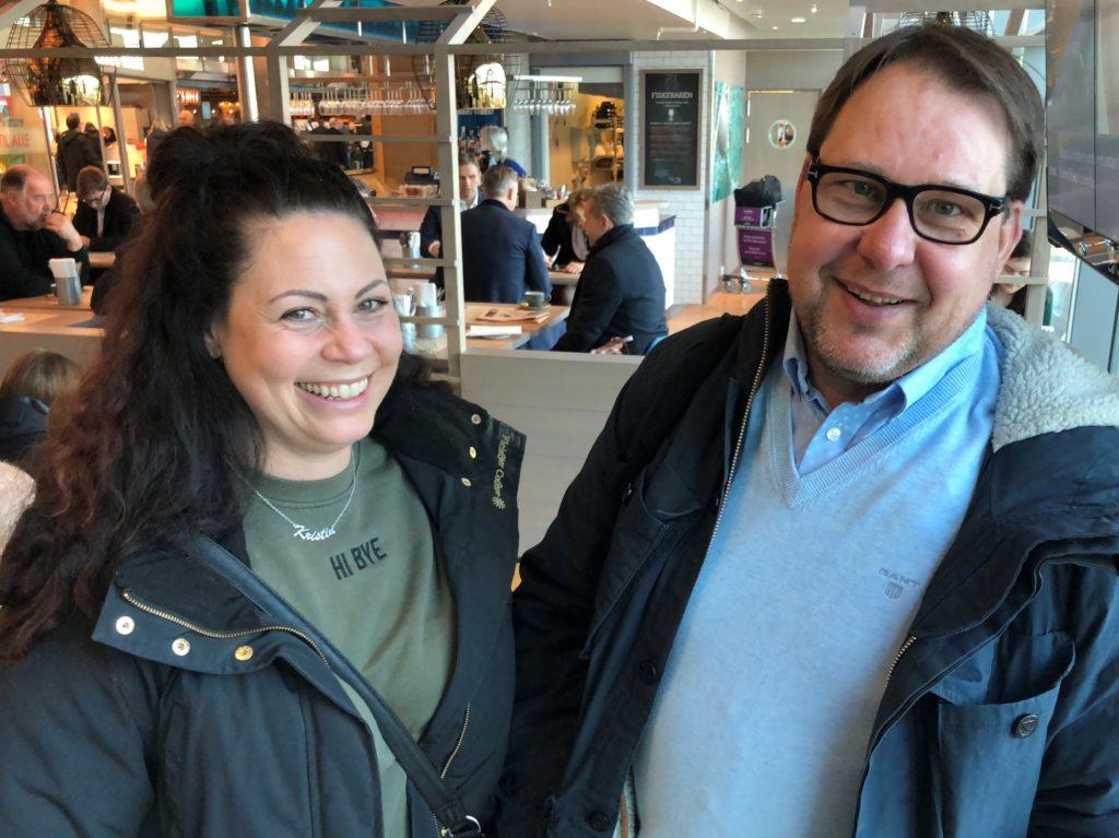 Regionsjef Rune Austdal (17 år i Q) og Distriktsjef Kristin Oehme (11 år i Q): Radarpar som er kjent for å gå en «ekstra mil» for å få fornøyde butikkfolk.